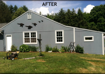 After image of siding installation by Bradley's Roofing.