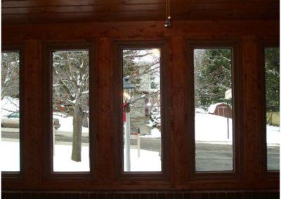 Window Installation by Bradley's Roofing.